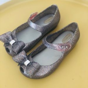 Mini Melissa Ultragirl Sparkly Mary Janes